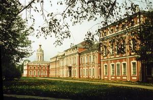 Александро-Невская лавра, 1717 г. Россия.