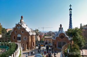 1900-1914 гг., Парк Гуэля, Барселона, Испания.