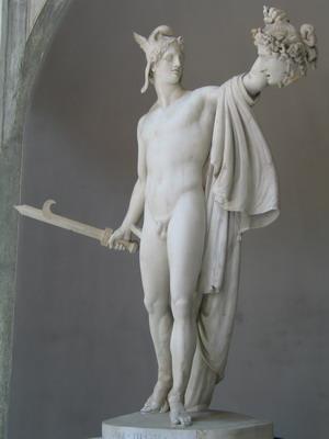 Персей с головой Медузы (Музей Пио-Клементино).