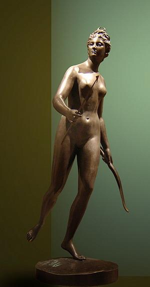 Скульптура Дианы 1777 г.