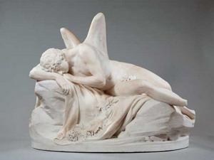 Скульптура дремлющего Морфея, Лувр.