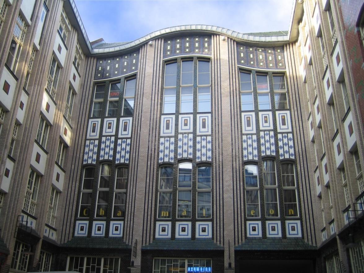 Эндельской двор (варьете Хамелеон), 1905-1906 гг., Берлин, Германия.