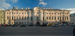 Строгановский дворец, Санкт-Петербург.