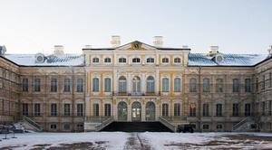 дворец герцога Бирона в Рундале, Латвия.