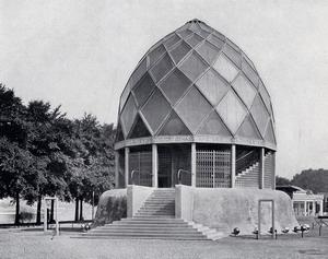 Стеклянный павильон Таута на выставке Немецкого Веркбунда 1914 г., Кёльн, Германия.