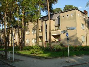 Жилой комплекс «Хижина дяди Тома», Целендорф. 1926 г., Германия.