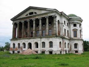 Дворец Разумовского 1803 г., Батурин, Украина.
