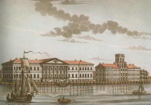 Академия наук 1783-1785 гг., Санкт-Петербург, Россия.