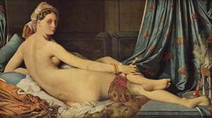 Большая одалиска, 1814 г., Лувр, Париж.
