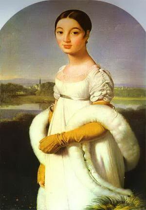 Портрет мадемуазель Ривьер, 1805 г., Лувр, Париж.