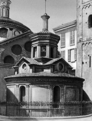Санта-Мария прессо Сан-Сатиро в Милане.