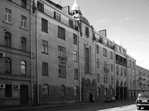 Доходный дом Нобеля на Лесном проспекте дом №20, 1910-1911 гг., Санкт-Петербург.
