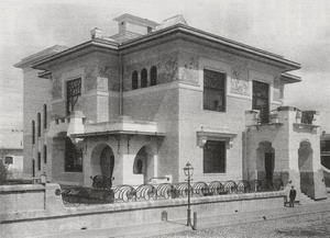 Особняк С. П. Рябушинского (А. А. Рябушинской) 1900-1903 гг., Москва.
