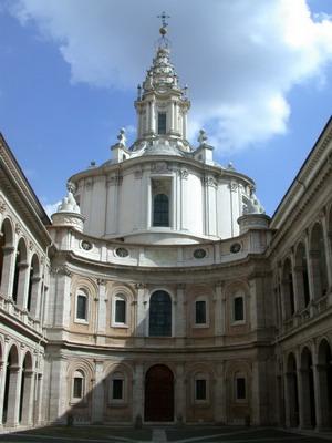 Церквь Сант Иво алла Сапиенца.