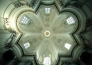 Купол в церкви Сант Иво алла Сапиенца.