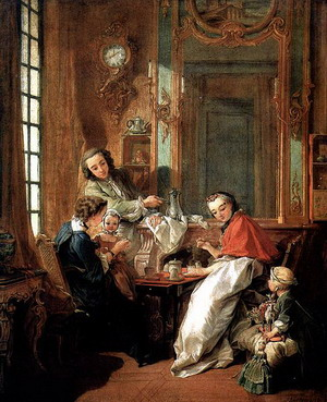 Завтрак 1739 г., Париж, Лувр.