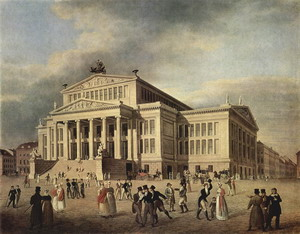 Драматический театр 1819-21 гг., Берлин, Германия.