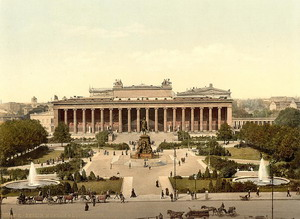 Старый музей 1781-1841 гг., Берлин, Германия.
