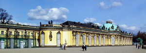 Дворец Сан-Суси, Германия.