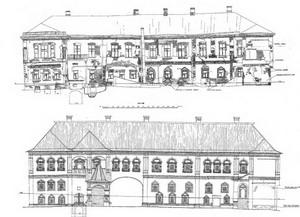Дом Лопухиных на той же улице (ныне Музей Л.Н.Толстого, 1817-1822 гг.), Москва, Россия.