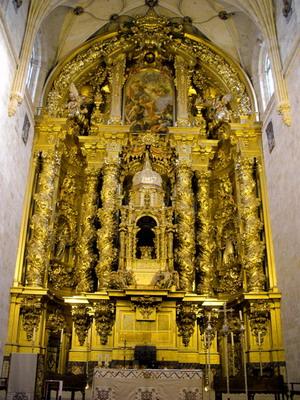 Ретабло церкви Сан-Эстебан в Саламанке.