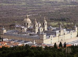 Монастырь-дворец Эскориал.