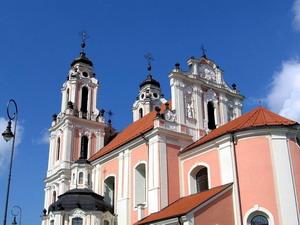 костела Св. Екатерины, Литва.