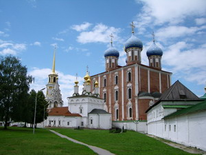Успенский собор в Рязани, Россия.