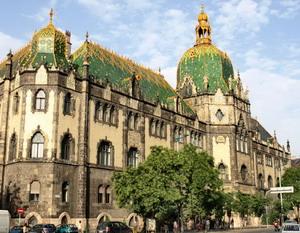 Музей прикладного искусства в Будапеште 1893-1896 гг., Венгрия.