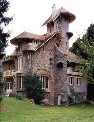 Castel d'Orgeval 1905 г., Франция.