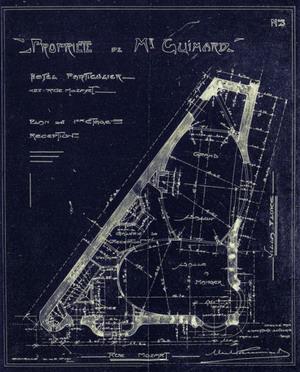 Проект, Гостиница Гимар 1909 г.Париж, франция.