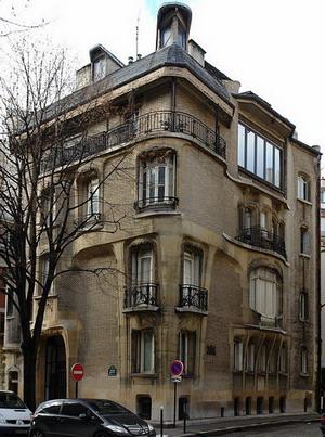 Гостиница Гимар 1909 г. Париж, франция.