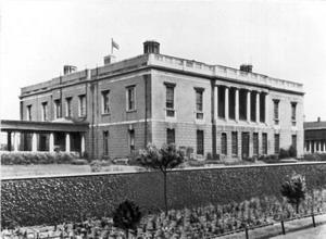 Дворец Куинс-хаус в Гринвиче.