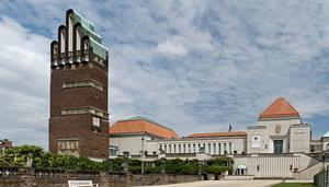 Свадебная башня в Дармштадте, Германия.