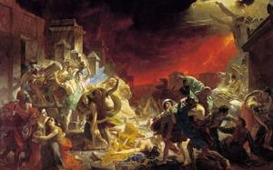 Последний день Помпеи 1830-33 гг., Русский музей, Санкт-Петербург.
