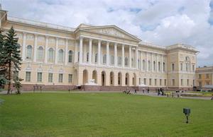 Михайловский дворец 1819-25 гг., Санкт-Петербург, Россия.