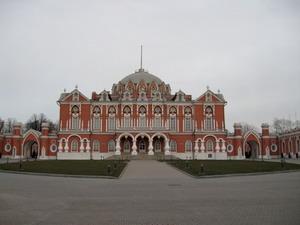 Петровский путевой (подъездной) дворец 1776-1780 гг., Москва, Россия.