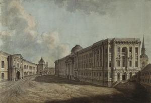Сенатский дворец в московском Кремле 1776-1787 гг., Москва, Россия.