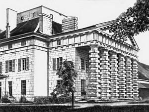 Королевская солеварня в Арк-э-Сенан 1770-1780 гг.,Франция.