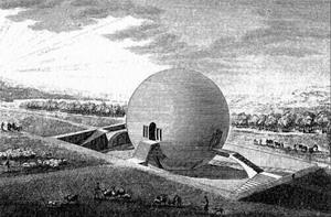 Проект дома смотрителя в Мопертюи 1780 г., Франция.