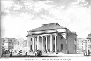 театр в Безансоне 1771-1773 гг.,Франция.