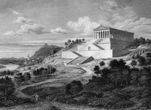 Зал Славы - Вальхалла 1830-1846 гг., Германия.