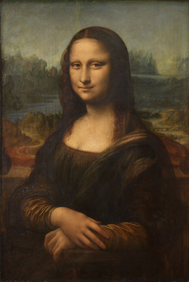 Леонардо да Винчи Мона Лиза.