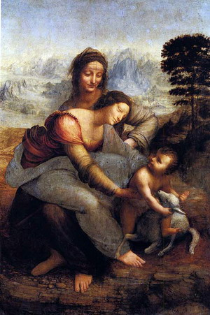 Мадонна и младенец со святой Анной
