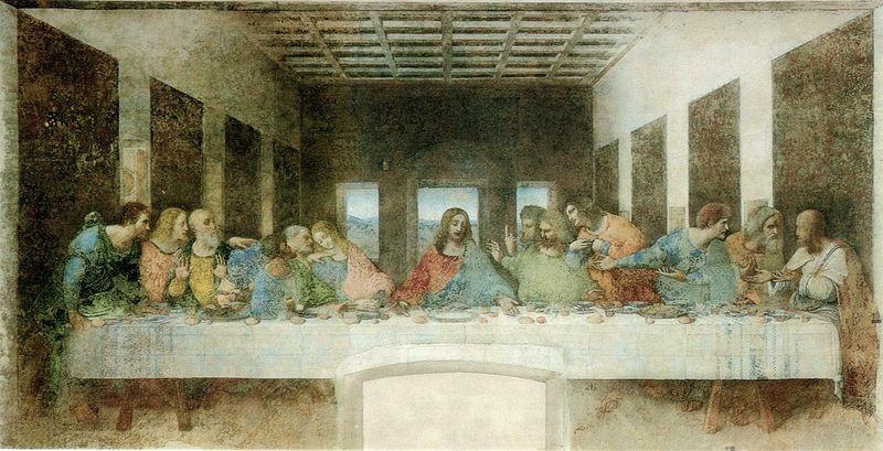 Тайная вечеря, 1494 -1498гг.