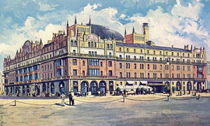 Гостиница Метропол 1905 г.  Москва.