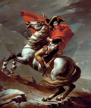 Наполеон на перевале Сен-Бернар, 1800 г.