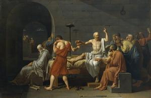Смерть Сократа, 1782 г.