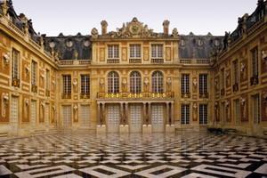 1661–1670 годы первый этап сооружения Версальского дворца.