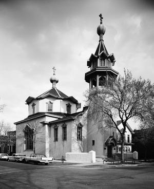 Русская православная церковь 1903 г., Чикаго, США.